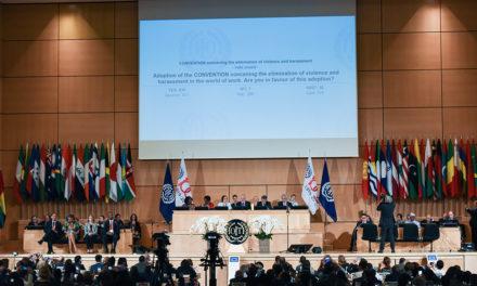La OIT adoptó un convenio para luchar contra la violencia y el acoso en el trabajo