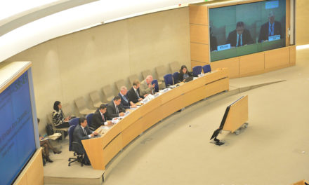 """Bolivia denuncia en la ONU que es víctima de """"fascistas incrustados en organizaciones cívicas"""""""