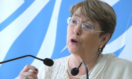 La represión y el uso excesivo de la fuerza en Bolivia solo avivarán más la ira: Bachelet