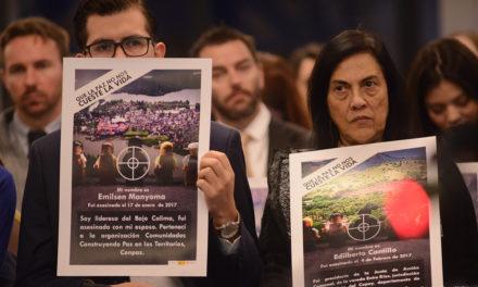 ONU advierte que ataques contra defensores en Colombia podrían aumentar en época electoral