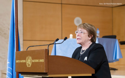 Michelle Bachelet pidió a Venezuela liberar a las personas detenidas por motivos políticos