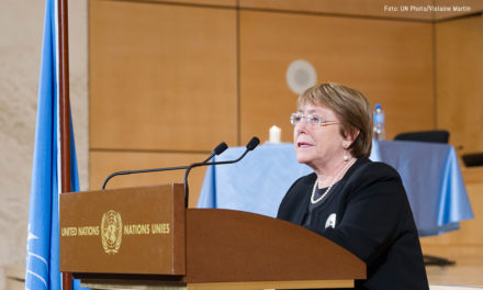 Michelle Bachelet deplora la muerte del capitán Rafael Acosta en Venezuela