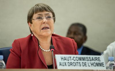 Las violaciones de derechos humanos no han cesado en Nicaragua: Michelle Bachelet