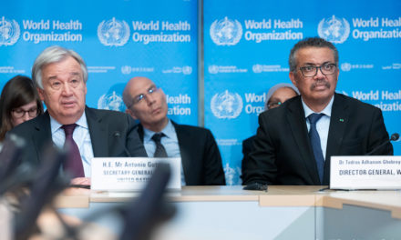 La ONU busca 2000 millones de dólares para combatir el coronavirus en los países pobres