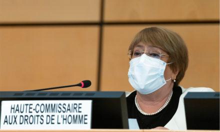 Bachelet pidió al Gobierno colombiano dar apoyo incondicional al sistema de justicia transicional